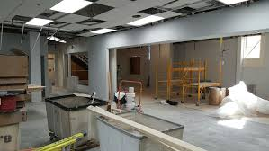 last week was a very ive week with all the walls being completed in addition hvac fire protection flooring and much more took a big step forward