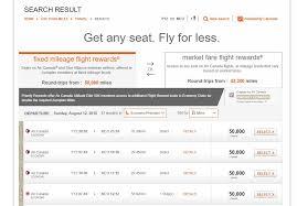 Aeroplan Rewards Redemption Chart Question Newbie Question About Aeroplan Points Redemption
