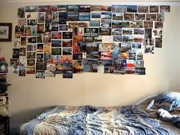 Put photos on the wall of moments you love to remember