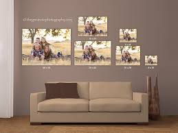 just make sure you get your portraits on the wall your family memories are too precious to be tucked away in a drawer or on your computer  on wall art sizes with wall art wednesday what size will you choose the great vine