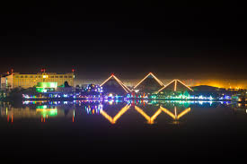 Moody Gardens Festival Of Lights Times The Moody Gardens Pyramids During Festival Of Lights
