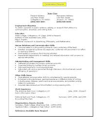 resume model for job resume sample for job resume sample model of a resume best resume