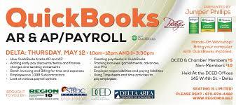 Payroll Invoice Impressive QuickBooks AR AP And Payroll Delta Region48