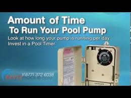 reduce your pool pump energy bill