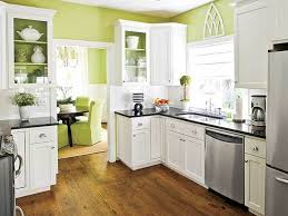 Kitchen Colors Lime Wall
