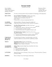 Undergraduate Resume Sample To Resume Sample Undergraduate