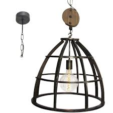 Hanglamp Brilliant Matrix 9341176 Staal 47cm