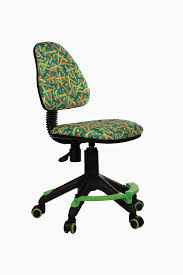 Кресло детское <b>Бюрократ KD</b>-<b>4</b>-<b>F</b>/<b>PENCIL</b>-<b>GN</b> подставка для ног ...