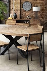 Kitchen Table Wood Top Black Legs