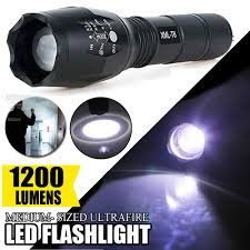 Flash Light S2 Details About 10w 1200lm Zoomable Led Flashlight Focus Torch Lanterns Light