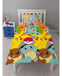 awesome pokmon catch single duvet cover bedroom bedding pokemon bed set plan