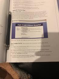 Create A New Folder For The Fish Creek Case Study.... | Chegg.com