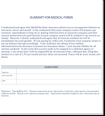 Voss & Klein: Sample Medical Form