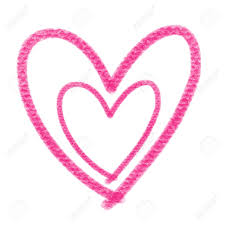 """Résultat de recherche d'images pour """"dessin coeur rose"""""""