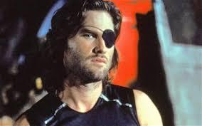 Kurt Russell as Snake Plissken in Escape From New York. Image 1 of 7. Kurt Russell as Snake Plissken in Escape From New York - Snake_one_eye_Kurt_1813621c