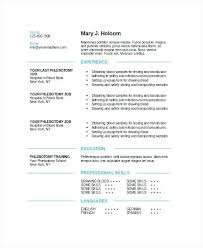 Phlebotomist Resume Examples Magnificent Objectives Resume On Sample ...
