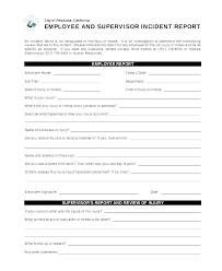 Network Incident Report Template Caseyroberts Co