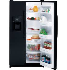 ge® 22 0 cu ft side by side refrigerator dispenser product image product image