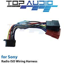 iso wiring harness for sony wx gt90bt wxgt90bt cable connector lead iso wiring harness connector/adaptor for pioneer 16 pin sony wx gt90bt iso wiring harness cable adaptor connector lead loom wire plug