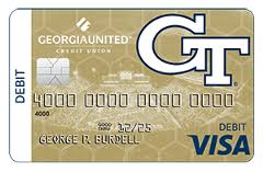 They recently changed their policy so that customers only need their debit card and driver's license to pay after booking with them 24 hours in advance. Georgia Tech Debit Card Georgia United Credit Union