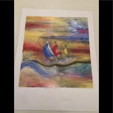 Cheryl Summers Wall Art | Cheryl Summers Lazer Art Print Sails On Parade |  Poshmark