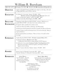 Sample Resume Objectives For Working Students Best 16 Social Work