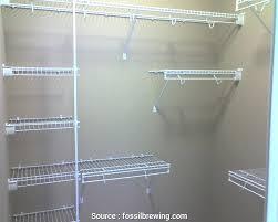 wire shelf closet wire rack shelving closet organizer how to install wire closet shelving fossil brewing