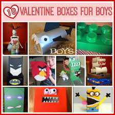 Boy Valentine Box Decorating Ideas