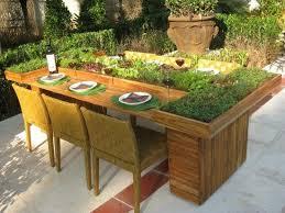 garden bench planter box. diy table from wooden pallets garden furniture planter idea bench box