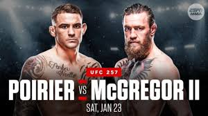He has repeated the comments in several other interviews though has said he wants a war to spend time in. Watch Mcgregor Vs Poirier 2 Live Stream Ufc 257 Fight Online