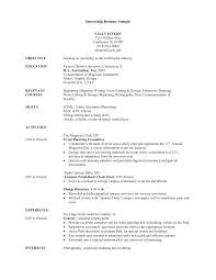 Sample College Freshman Resume – Formallogicdecay