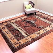 bronc brands western area rugs southwestern 9x12