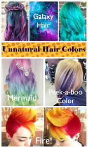 Unnatural Hair Color Chart 28 Albums Of Unnatural Hair Color Ombre Explore Thousands