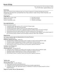 Customer Service Resume Summary Custom Professional Customer Service Resume Outbound Call Center Resume