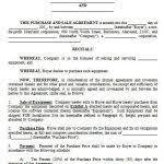 Pre Sale Agreement Template Mincirmethode