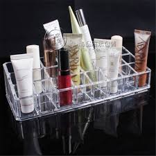 Lipstick Display Stands Women's Fashion Beauty Designer Cosmetic Box Clear Acrylic 100 63