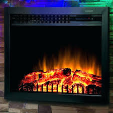 33 electric fireplace insert df30st 33 inch wide electric fireplace insert