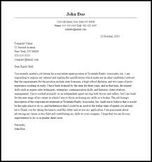 Real Estate Agent Cover Letter Resume Genius In Real Estate Cover