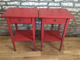 red bedside table. Interesting Red Red Bedside Table Hemnes Ikea Intended Bedside Table I