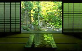 japanese tea room wallpaper ...