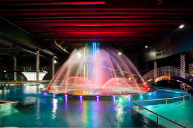 Swimming pool lighting design Ceiling Sensationalcolorfulswimmingpoollightingideas Home Interior How To Decorate Beautiful Indoor And Outdoor Swimming Pool With