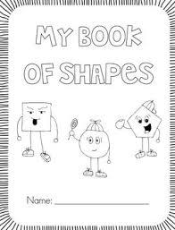 my shape book all about 2d shapes first grade garden teacherspayteachers