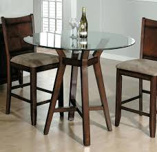 small high top table dining tables small high top kitchen table sets with round glass within
