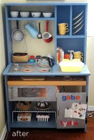 play kitchen dba make your own play kitchen from an old desk diy play kitchen idea