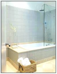 one piece tile shower bathroom showers