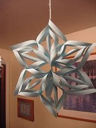 paper snowflakes 3d how to make a 3d paper snowflakes ehow