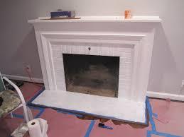 freshened up fireplace