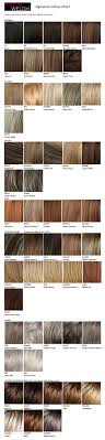 Raquel Welch Wigs Color Chart Raquel Welch Signature Colour Chart Wigs Raquel Welch