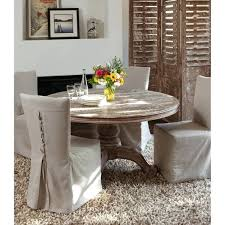 reclaimed wood inch round dining table by home 60 pad