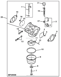 John deere parts diagrams john deere gs45 power unit 14 hp pc2528 carburetor engine 13 hp kohler